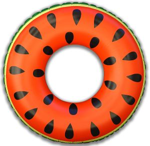 Holiday Party Pool Swimming 4 Feet Diameter Inflatable Watermelon Ring pictures & photos