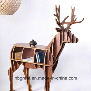 Wooden Bookshelf for Elk Model pictures & photos
