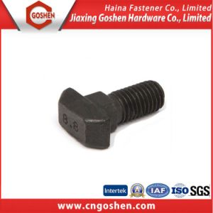T Head Square Neck Bolt DIN186 with Grade 8.8/OEM T Bolt pictures & photos