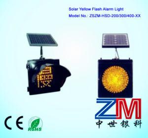 New Style 200/300/400mm Solar Traffic Flash Lamp / LED Flashing Warning Light pictures & photos