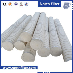 PP/Glass Fiber Pleated High Flow Rate Filter Cartridge pictures & photos
