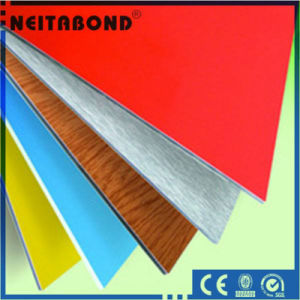Wooden Color Aluminum Composite Panel for Interior Decoration with Size 1220*2440*3mm pictures & photos