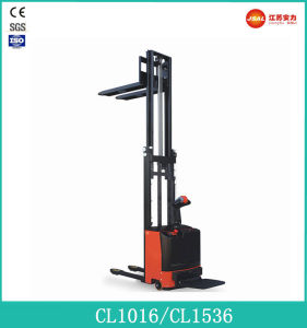 1.0t Load Full Electric Stacker with CE (CL1016)