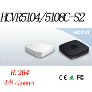 4/8CH Tribrid 720p-PRO Smart 1u Hdcvi DVR {Hcvr5104/5108c-S2} pictures & photos