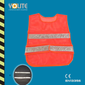 High Visbility Fashion Vest with Reflective Belt pictures & photos