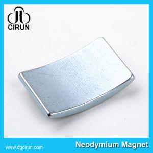 Custom Arc Shape Neodymium Motor Generator Magnet pictures & photos