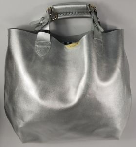 Guangzhou Supplier Designer Genuine Leather Ladies Handbag (203)