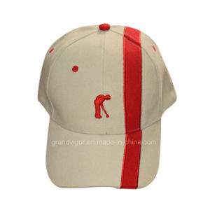 Promotional Golf Cotton Cap with Contrast Pipings pictures & photos