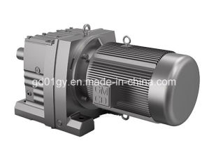 R Helical Geared Speed Reducers, High Strength Cast Iron for Conveyor pictures & photos