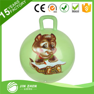 New & Trendy High Quality Inflatable PVC Jump Ball with Handle