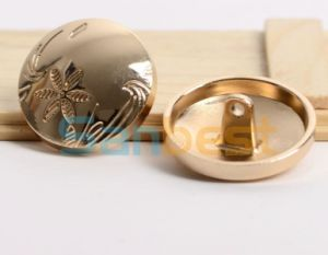 High Quanlity Simple Metal Buttons for Demins Garments pictures & photos