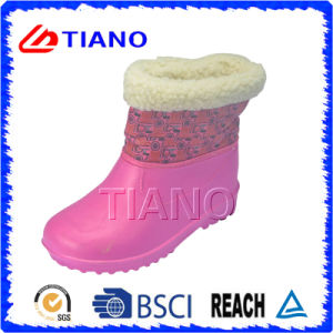 Comfortable with Fur Lining EVA Boots for Kid′s pictures & photos