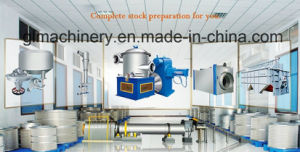3 T/D Waste Paper Repulping Recycle Paper Stock Preparation Line pictures & photos