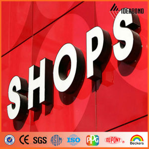 China National Standard B1 Fire Resistant Acm Advertising Board Building Material Produces From Ideabond pictures & photos