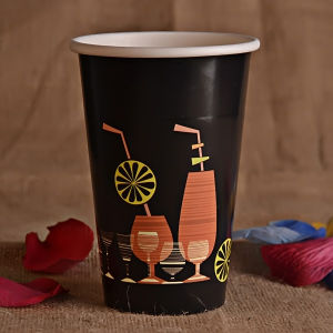 Single Wall Coffee Paper Cup of Double PE Coated pictures & photos
