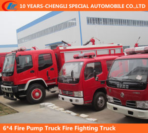 6*4 Fire Pump Truck Fire Fighting Truck pictures & photos
