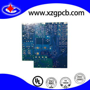 4-Layer HASL Motor Control PCB Board with Blue Soldermask pictures & photos