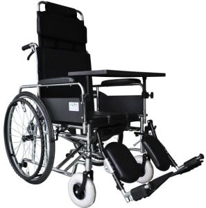 High Quality Deluxe Reclining Wheelchair pictures & photos