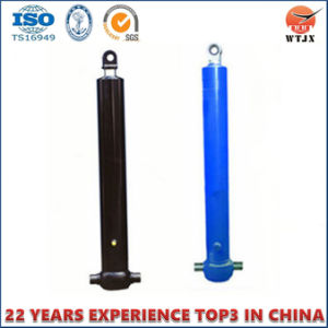 Front-End Hydraulic Cylinder with Piston Eye for Dump Truck pictures & photos