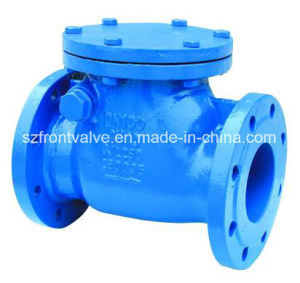 Cast Iron/Ductile Iron Flanged End Swing Check Valve pictures & photos