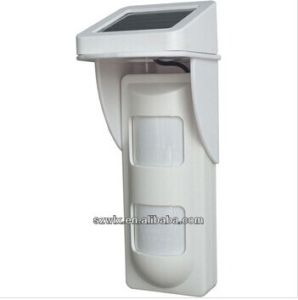 Solar Powered Wireless PIR Outdoor Motion Detector pictures & photos
