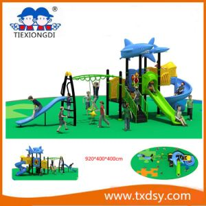 Customized Hot New Children Outdoor Exercise Playground Equipment pictures & photos