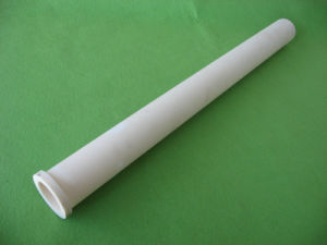 99.7% Al2O3 Flanged Alumina Ceramic Tube pictures & photos