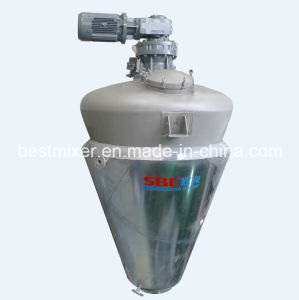Vacuum Working Conical Screw Mixer pictures & photos