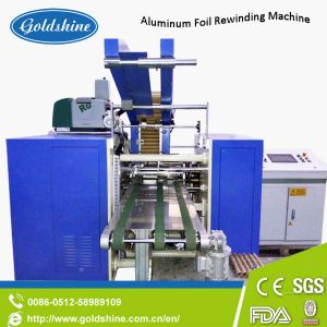 Full Automatic Aluminum Foil Cling Film Rewinding Machine with Ce pictures & photos