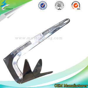 Investment Casting Stainless Steel Anchor in Marine Hardware pictures & photos