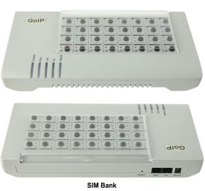 32 Remote SIM Card Box for GSM GoIP Gateway SIM Bank Dbl SMB32 VoIP Gateway pictures & photos