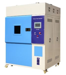Simulated Environmental Xenon Wearhering Solar Radiation Climatic Chamber / Climatic Test Machine pictures & photos