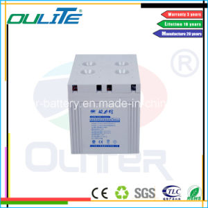 2V2000ah Telecom Equipment AGM Battery Ce RoHS UL pictures & photos