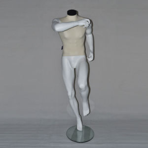 High Grade Running Sports Male Mannequin with Neck Block pictures & photos