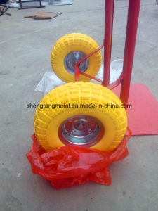 Hand Trolley PU Foamed Puncture Proof Wheel 3.50-4 pictures & photos