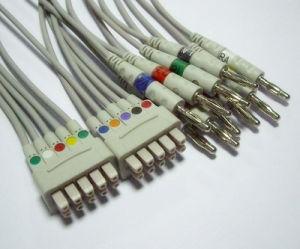 Burdick 15pin IEC Trunk 10 EKG/ECG Cable pictures & photos