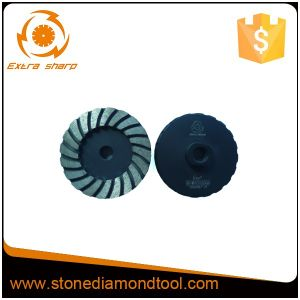 Turbo Steel Type Diamond Grinding Cup Wheels pictures & photos