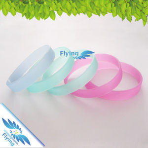Hot Selling Cheap Wristbands Custom Debossed Silicone Rubber Band/Bracelet for Events