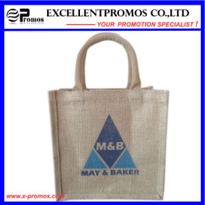 Eco-Friendly Logo Customized Promotional Jute Bag (EP-B581704) pictures & photos