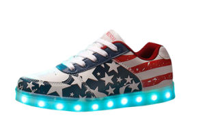 Unisex Fashion LED Shoes with Stars