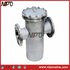 Stainless Steel API Flanged Basket Strainer pictures & photos