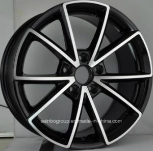 Car Alloy Wheel Rims Hyper Silver 17X7.5 18X8.0 for Audi pictures & photos