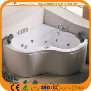 Corner Double People Jacuzzi Indoor Bathtub (CL-333) pictures & photos