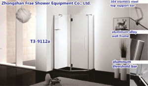 High Quality Diamond Shape Shower Enclosure in Zhongshan pictures & photos