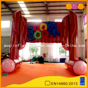 Ligneous Inflatable Arch Good for Advertising Events (AQ53120) pictures & photos