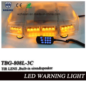 21.5 Inch Mini Lightbar Built-in Siren and Speaker with Tir Lens in High Waterproof (TBG-808L-3C) pictures & photos