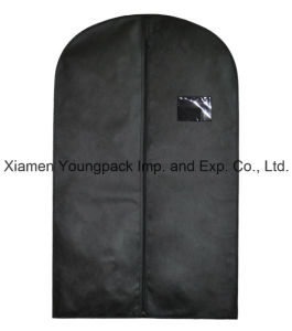 Custom Black Non-Woven Travel Suit Garment Bag pictures & photos