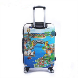 Hard Shell Luggage 4-Wheel Trolley Bag Set pictures & photos