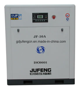 Jufeng Screw Air Compressor Jf-30A Belt Driven (8 Bar) 30HP/22kw