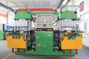 Hydraulic Rubber Transfer Moulding Press for Rubber Band Made in China pictures & photos